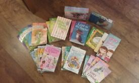 Bundle of 33 lovely books in very good condition (see photos) for young girls