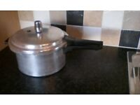 Vintage Tower Pressure Cooker being sold as a Large Saucepan with lid