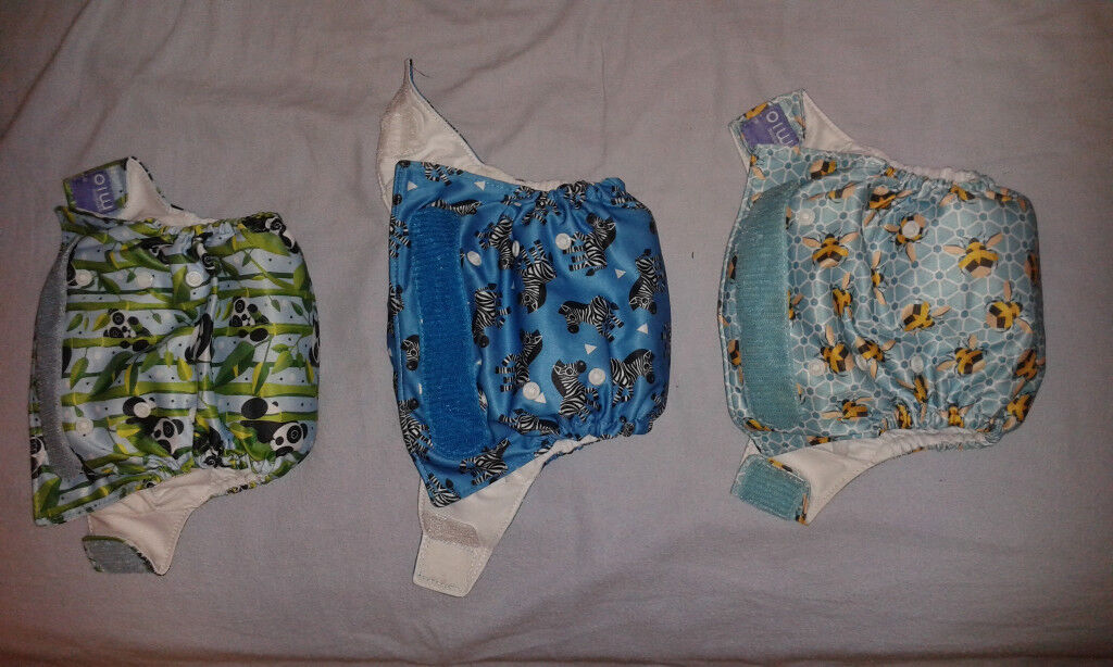 Reusable nappies from MioSolo x3