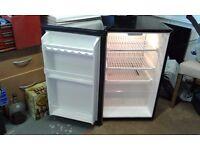 Hinari black and grey fridge