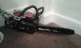 petrol homelite chainsaw