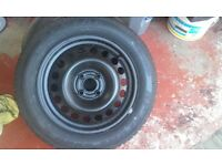 4 stud spare wheel for astra G