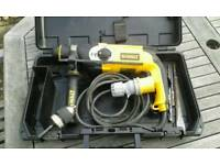Dewalt S.D.S plus with adapter for sale