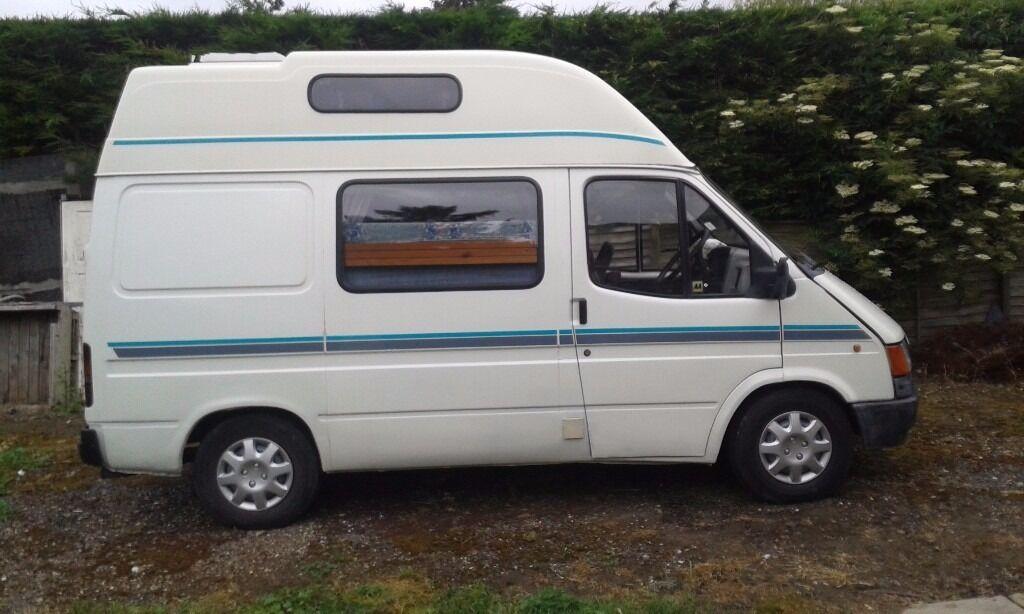 Transit Camper Van Failed Mot Needs Welding Sale Or Swop