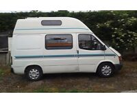 Transit 120 camper van for sale