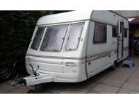5 berth caravan SWIFT 1991 490L plus AWNING