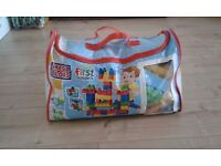 Mega Bloks Deluxe Building Bag 160+ pieces