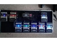 8 QUALITY PRO PEDALS BY DIGITECH TRANSPARENT SOUND ALL TRUE BYPASS