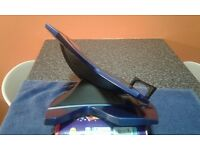 Lap top stand. Ergonomic adjustable stand