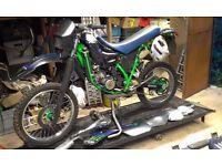 Yamaha DT125R, spares or repair