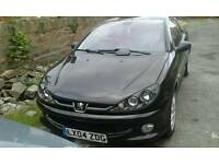 Peugeot 206cc. 2ltr. Petrol, 2004 convertible moted March 2017.