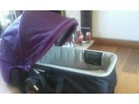 Baby city jogger carrycot excellent condition