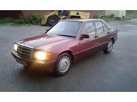 Mercedes 190 d LHD LEFT HAND DRIVE ORGINAL 2.0 DIESEL 4 CYLINDER ENGINE CLEAN CONDITIONS RUN PERFECT