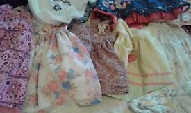 Bundle of baby girls 6-9months clothes