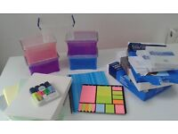 Printer Paper and Assorted Office Supplies