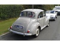 Completely restored Morris minor