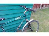 Reduced Gents Tourism 20six 18 speed bike good price