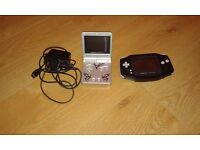 Gameboy advance and Gameboy advance sp