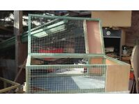 4ft x 3ft run with covered end / tortoises / guinea / small rabbits