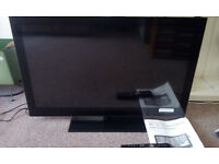 Sandstrom S32HED13 HD Ready LED Television, built in DVD player, about 4 years old