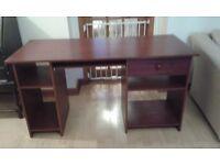 Computer desk, good condition,380L x 71h x 59w.