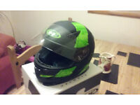 HJC Motorbike/Motorcycle Helmet, Size Large In Very Good Condition £25