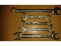 100+ RARE VINTAGE Spanners - massive job lot - check this out!!!