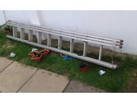 **ALUMINIUM 3 SECTION LADDER**