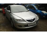 2004 Mazda 6 1.8 S 5dr silver manual BREAKING FOR SPARES