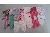 Baby Girl clothes bundle newborn for sale £5