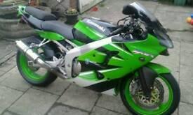 Kawasaki zx6r j1 x reg 2000