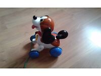 Tomy pull along puppy
