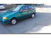 Suzuki Swift 1.0 Petrol 2002 Only 44k
