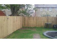 Timber Fence Supplied and Fitted