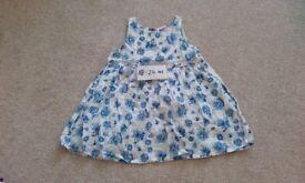 Floral summer girls dress size 18-24 months