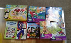 Selection of chikdrens board games