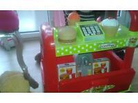 ice cream n burger van
