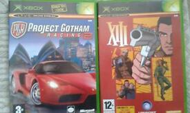 Xbox game Project Gotham Racing 2 & XIII