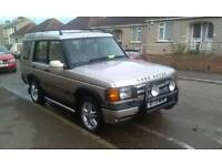 Land Rover Discovery 2. 42k miles. Genuine low mileage vehicle.