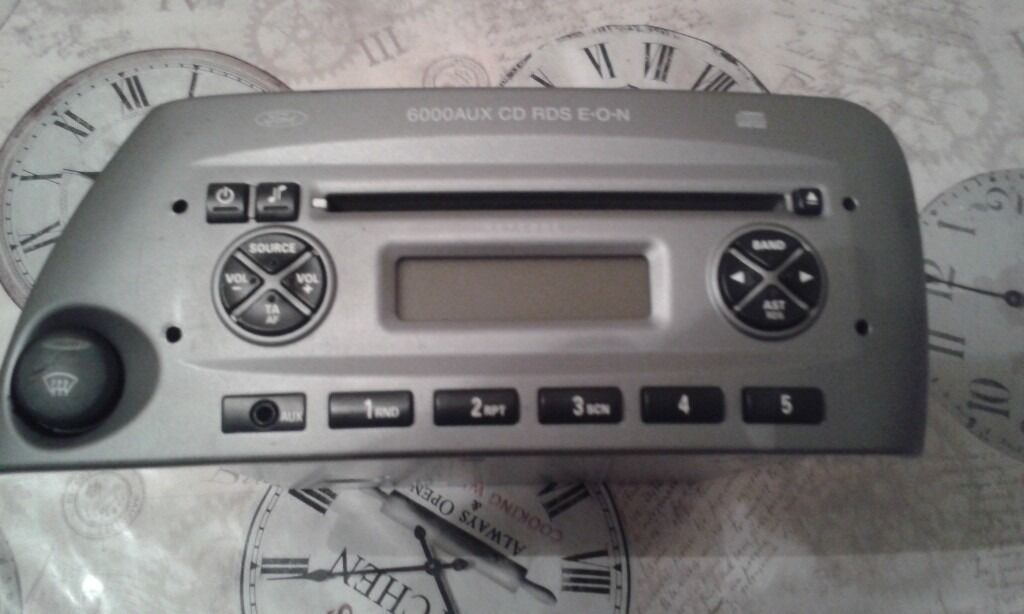 Original Ford Ka Aux In Cd Player  Cd Stereo Radio