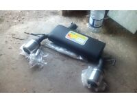 Audi TT Ulter Twin Exhaust Performance Back Box - Brand New Boxed