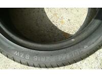 205/45/16 Car tyre used