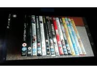 ASSORTMENT OF DVDS.