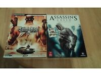 Various game guides (Saints row + 2+3, Assassin's creed, xcom enemy unknown, the godfather 2, c&d
