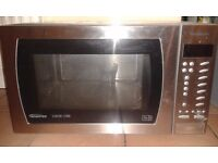 FREE - Panasonic Combi Microwave - NOT WORKING - SPARES OR REPAIR