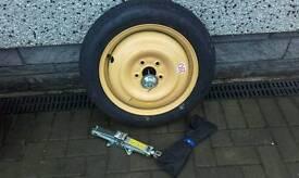 Honda Civic Tourer space saver spare wheel