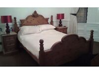 Kings size Pine Bed
