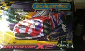 Scalextric bash n crash x2