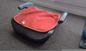 Child's car booster seat