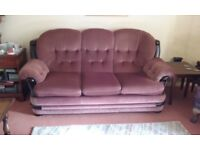3 seater sofa for sale. £ 10 and buyer collects